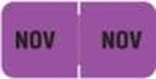 Barkley Systems Month Designation Labels -  FMBLM Series (Rolls) - November/Purple