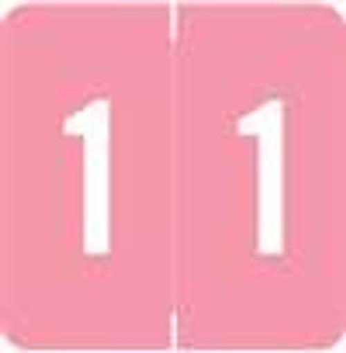 Barkley Systems Numeric Label - FNBDM-S Series (Rolls) - 1 - Pink