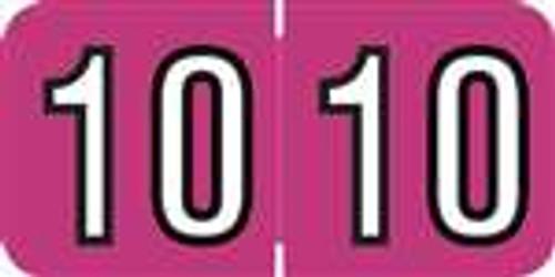 Amerifile Yearband Label - ARYM Series (Rolls) - 2010 - Lavender