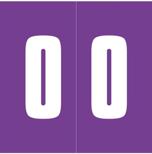 IFC Numeric Labels - CL3300 System #3 Series (Rolls) - 0 - Purple