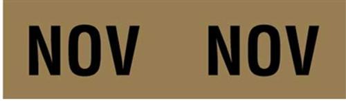 IFC Month Designation Labels (Rolls) - November/Gold