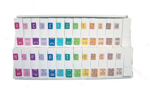 Barkley Systems Alphabetic Labels - ACPM Series (Rolls) Complete Set A-Z