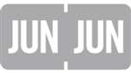 TAB Month Designation Labels (Rolls)- June/Gray