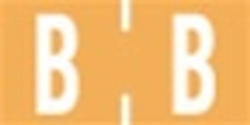 TAB Alphabetic Labels - 1278 Series (Rolls) B- Lt. Orange