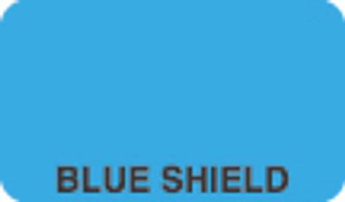 Blue Shield Label