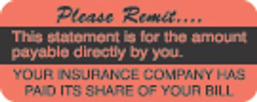 Please Remit Label