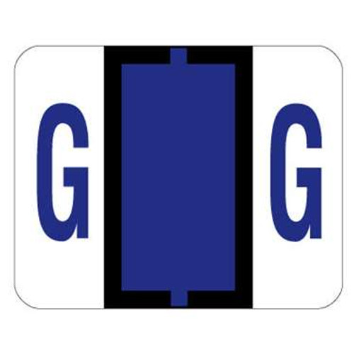 TAB Alphabetic Labels - 1286 Series (Sheet) G- Purple