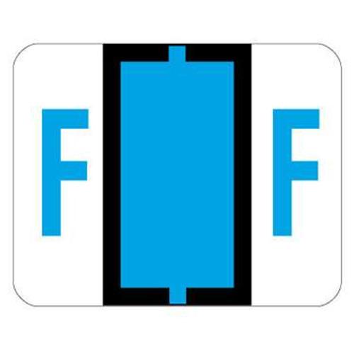 TAB Alphabetic Labels - 1286 Series (Sheet) F- Blue