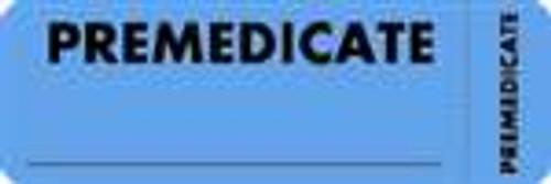 Premedicate Label