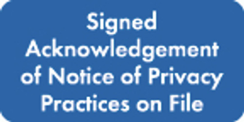 Signed Acknowledge Label