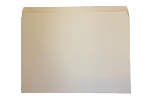 Top Tab File Folder w/ Fastener - Position 1 - Manila - Legal - 11 pt - Reinforced Straight Cut Tab - 100/Box