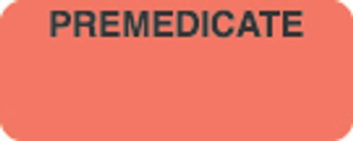 Premedicate Label 1