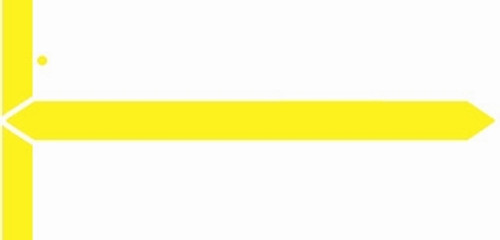 GBS Name Label (Pack of 1000) - Yellow - 8852 Series
