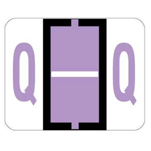 TAB Alphabetic Labels - 1286 Series (Sheet) Q- Lilac