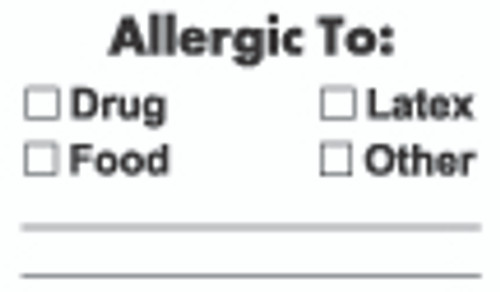 AllergicTo: Label
