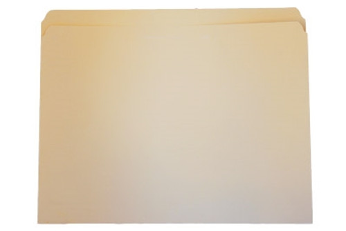 Top Tab File Folder - Manila - Letter - 11 pt - Single Ply Straight Cut - 100/Box