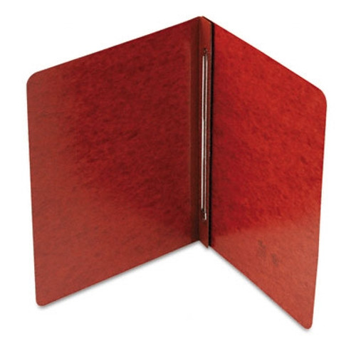 "Smead PressGuard Binder Cover, Metal Prong with Compressor, Side Fastener, 250 Sheets/2"" Capacity, Letter Size, Red, 25 per Box (81752)"
