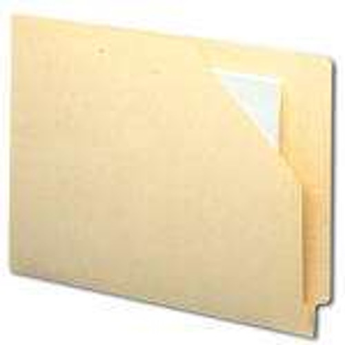 Smead End Tab File Jacket, Shelf-Master Reinforced Straight-Cut Tab, Letter Size, Manila, 100 per Box (75700)
