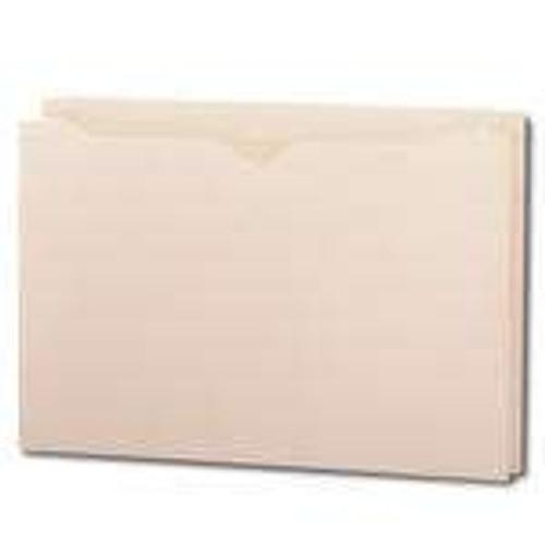 "Smead File Jacket, Reinforced Tab, 1-1/2"" Expansion, Legal Size, Manila, 50 per Box (76540) - 4 Boxes"