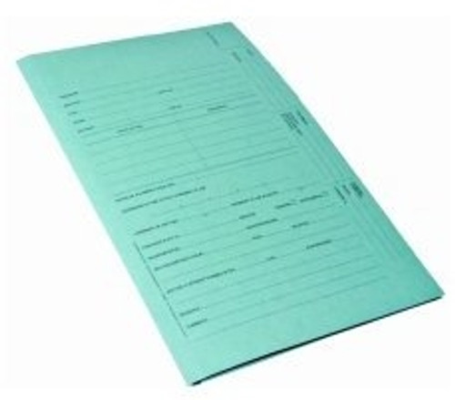 Redweld Intellectual Property Folder, US Trademark Folder, Blue Trademark, 3 Leaf - 100/Box