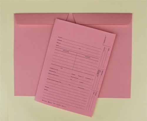 U.S. Trademark Application Folder, Redweld Intellectual Property Folder, Salmon Color, 2 Leaf - Carton of 100