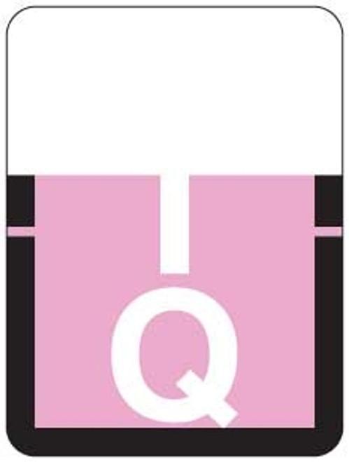 TAB Alphabetic Labels - 1307 Series (Rolls) Q- Lilac