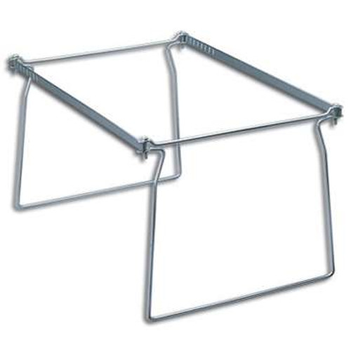 Smead Steel Hanging File Folder Frame, Letter Size, Gray, 2 per Pack (64870) - 6 Packs