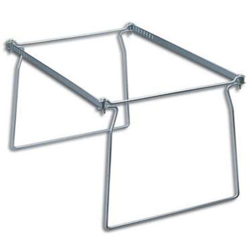 Smead Steel Hanging File Folder Frame, Letter Size, Gray, 2 per Pack (64870) - 6 Packs