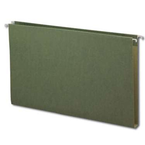 "Smead Hanging Box Bottom File Folder, 1"" Expansion, Legal Size, Standard Green,  25 per Box (64339) - 5 Boxes"