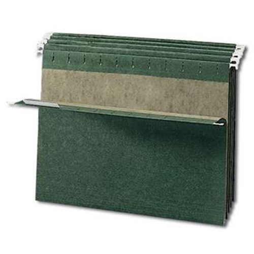 Smead Hanging File Folder, Letter Size, Standard Green, 25 per Box (64010) - 10 Boxes