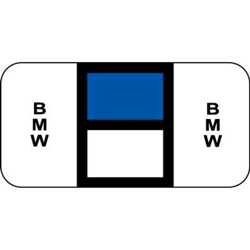 Vehicle Make Labels - BMW