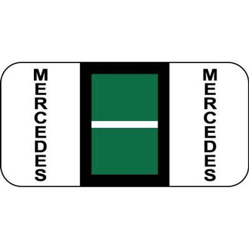 Vehicle Make Labels - Mercedes