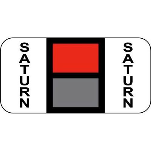 Vehicle Make Labels - Saturn