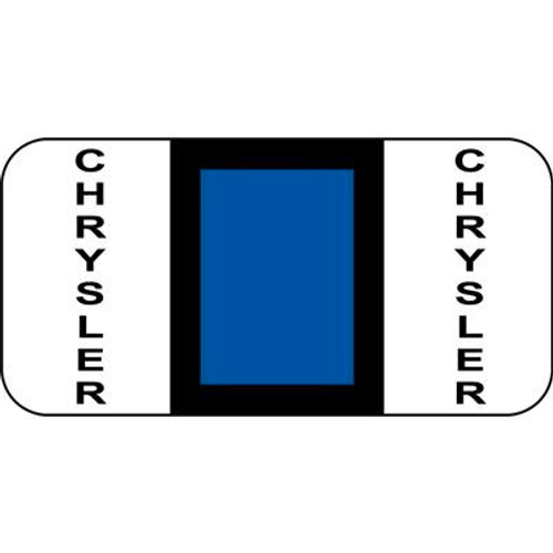 Vehicle Make Labels - Chrysler