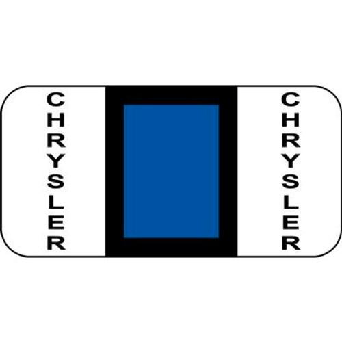 Vehicle Make Labels - Chrysler