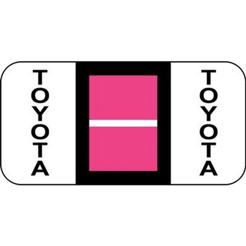 Vehicle Make Labels - Toyota