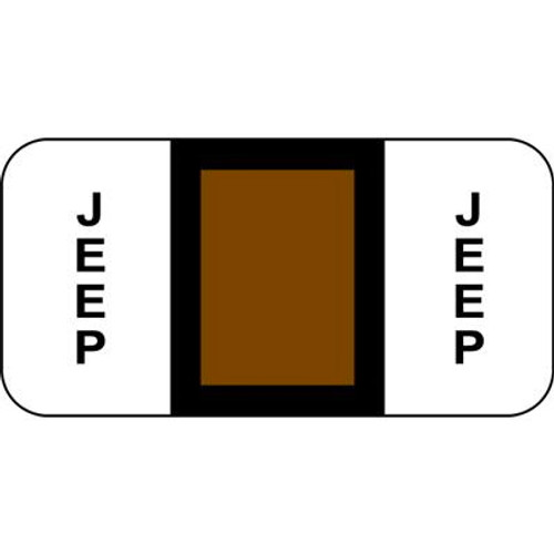 Vehicle Make Labels - Jeep