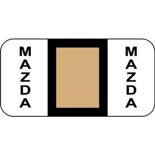 Vehicle Make Labels - Mazda