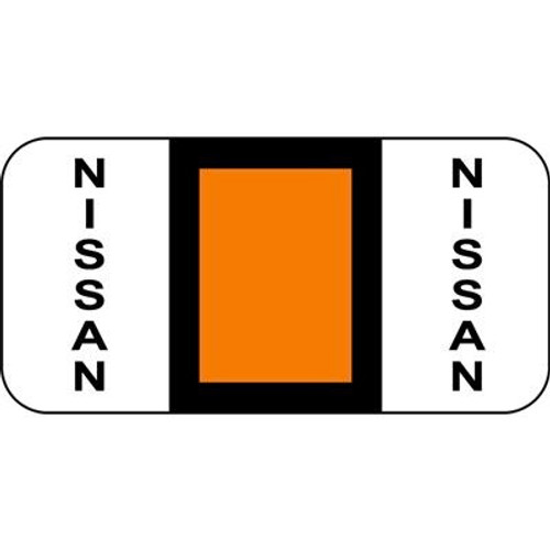 Vehicle Make Labels - Nissan