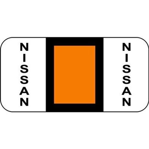 Vehicle Make Labels - Nissan