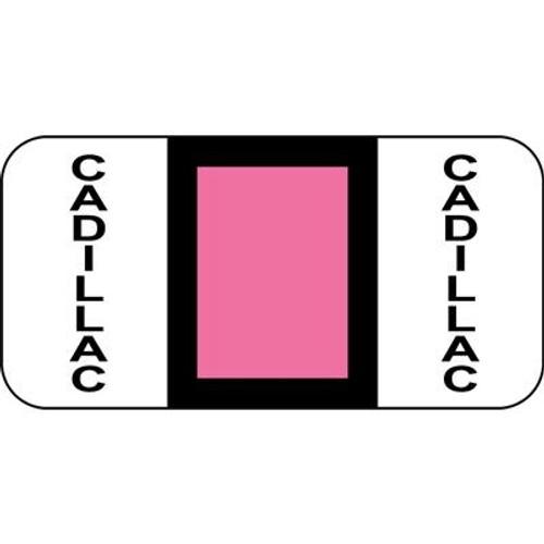 Vehicle Make Labels - Cadillac