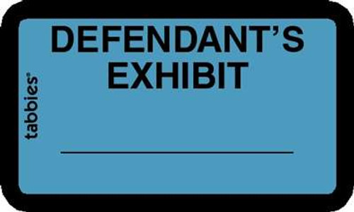 Defendant's Exhibit Blue, 252 Labels/Pkg