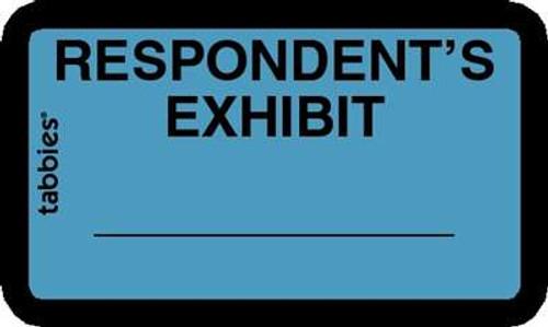 Respondents Exhibit Blue 252 Labels/Pkg