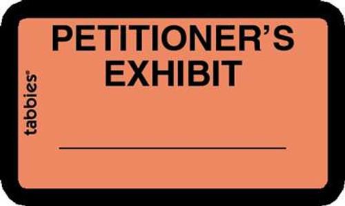 Petitioner Exhibit Orange 252 Labels/Pk