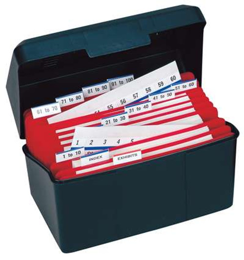 Numerical Legal Exhibit Index Tabs Desktop Kits