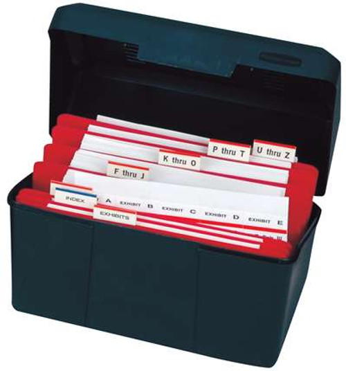 Alpha. Legal Exhibit Index Tabs Desktop Kits