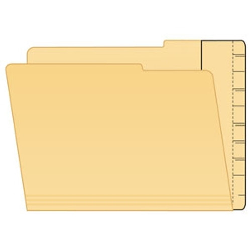 Extend-A Folder-Strip; Converter for Top Tab to End Tab - 100/Box
