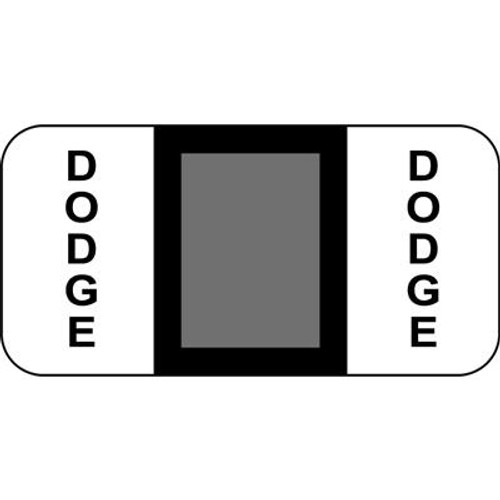 Vehicle Make Labels - Dodge