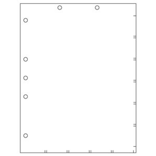 """Divider Sheets - 8-1/2"""" W x 11"""" H - 100/Box"""