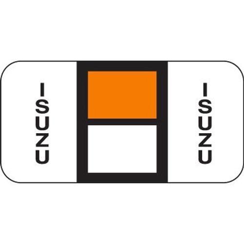 Vehicle Make Labels - Isuzu